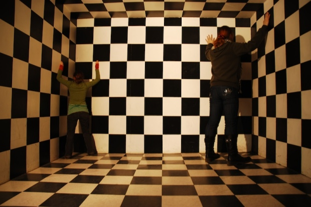 Lost in the Fun House of Illusion