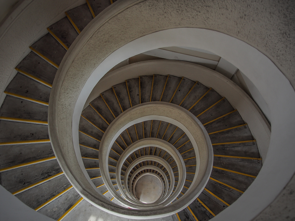 Architecture, Art, Spiral, Curve, Design, Interior, Stairs, Stairway, Staircase, Tower