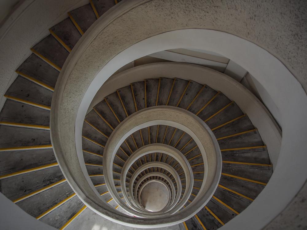 Architecture, Art, Spiral, Curve, Design, Interior, Stairs, Stairway, Staircase, Tower